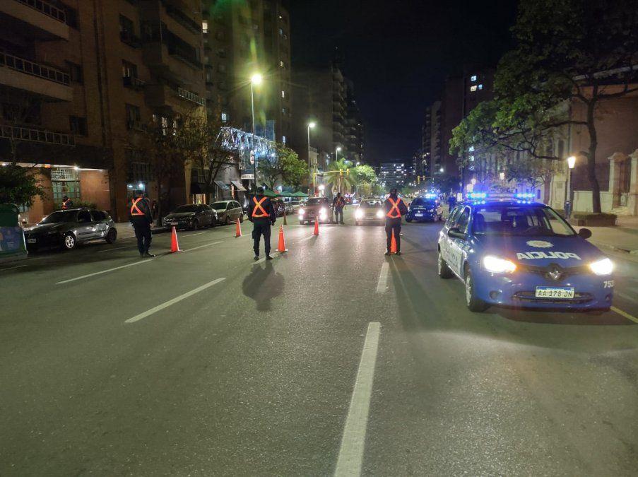 El operativo de la Policía para contener los festejos por el triunfo de Argentina