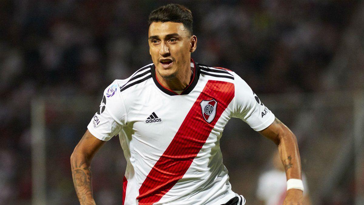 Con gol de Matías Suárez, River igualó con Gimnasia