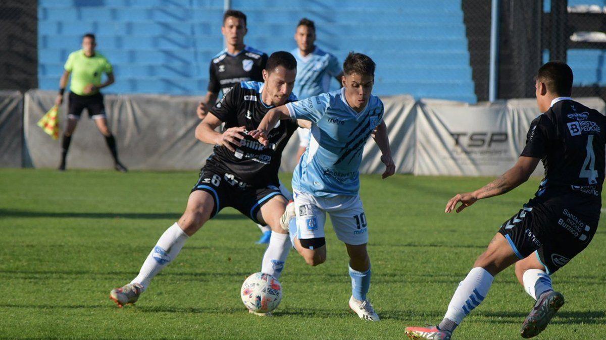Estudiantes de Río Cuarto igualó 1 a 1 en su visita a Temperley.