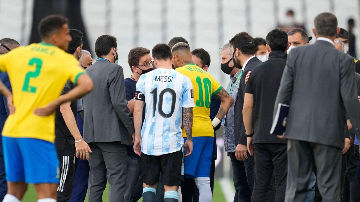 Argentina y Brasil, suspendido por autoridades sanitarias