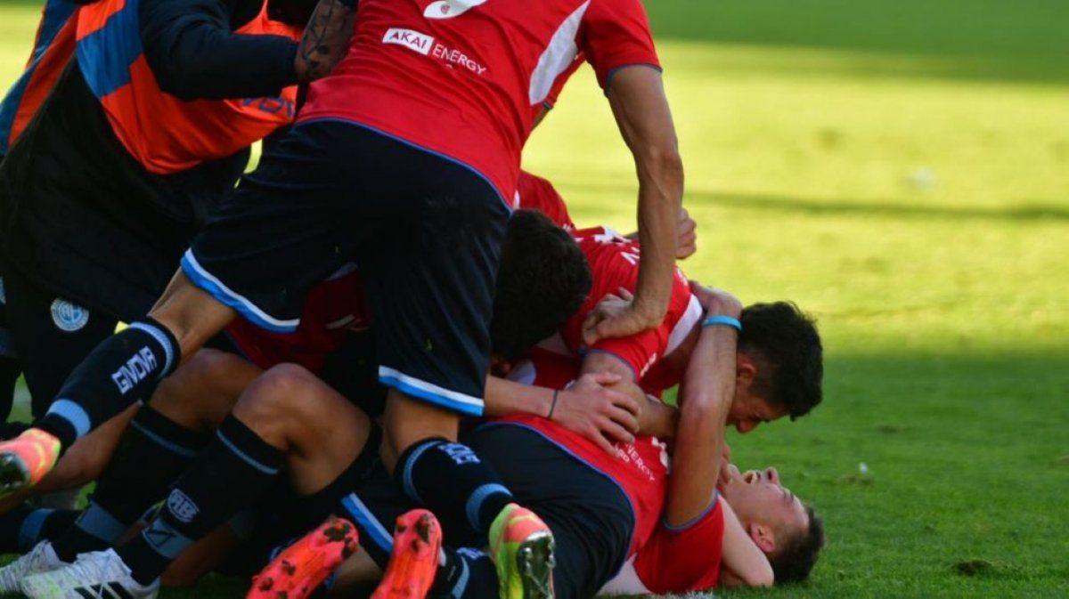Belgrano se quedó con los tres puntos el final del partido.