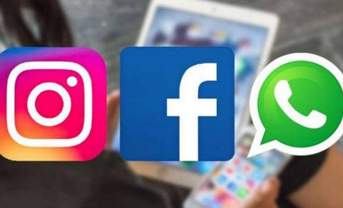 Volvieron a funcionar Facebook, Instagram y Whatsapp