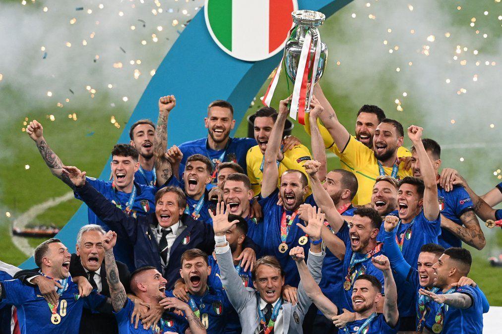 Italia se consagró campeón de la Eurocopa en los penales.