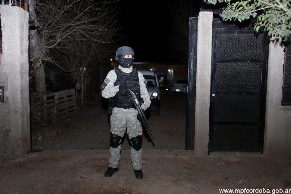 Córdoba: cae banda que vendía drogas en 13 barrios