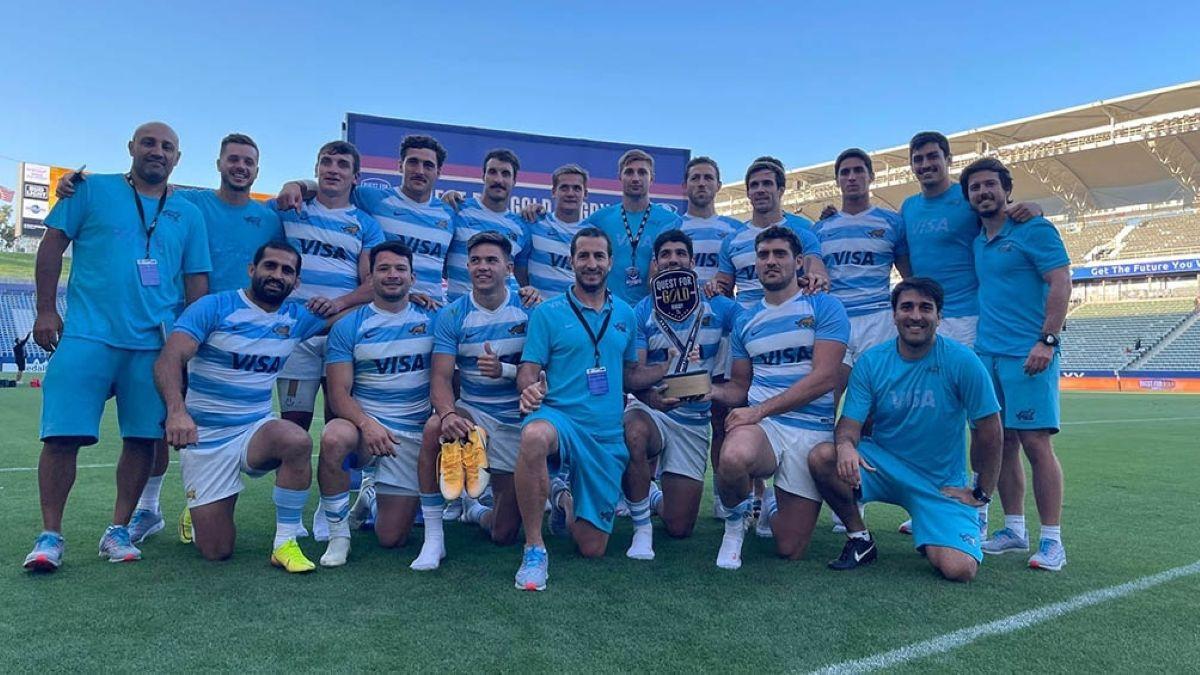 La selección Argentina de rugby seven