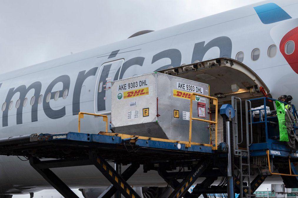 Llegan dos cargamentos de Pfizer y Argentina superará los 81 millones de vacunas recibidas