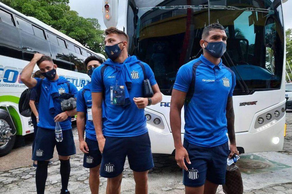 Talleres regresa antes del mediodía a Argentina