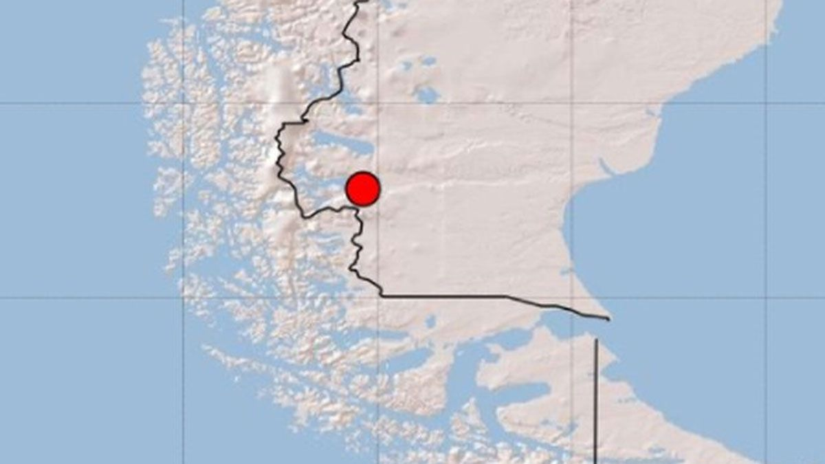 Sismo en Chile hizo temblar Calafate: no se informan heridos o daños materiales
