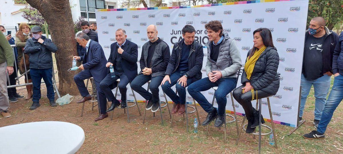 Juntos por el Cambio presentó lista en Córdoba y pidió un voto útil