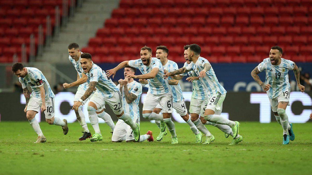 Argentina venció a Colombia y enfrentará a Brasil en la final de la Copa América.