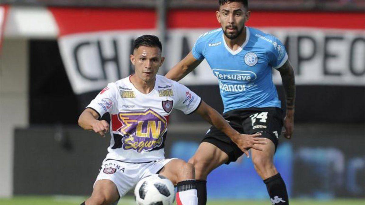 Belgrano recibirá a Chacarita en el Gigante de Alberdi.
