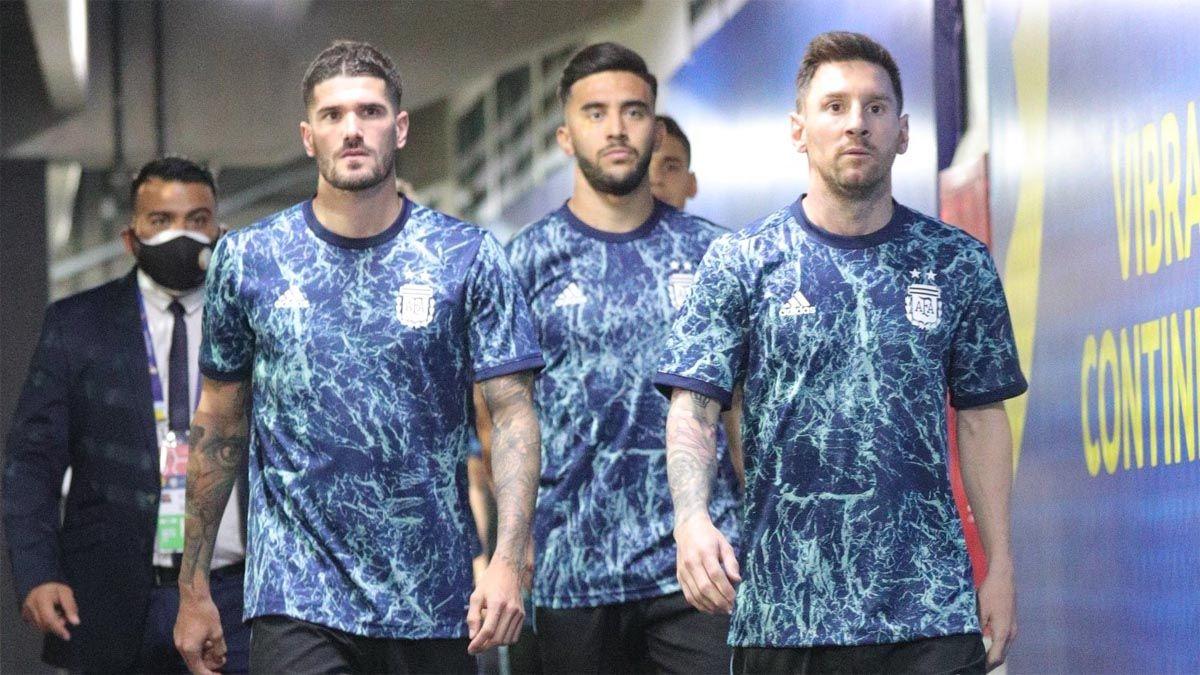 Argentina va por clasificación a semifinales de la Copa América.