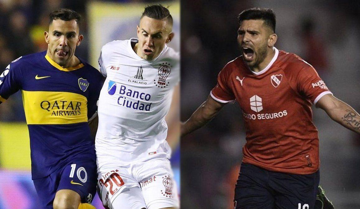 Boca visita a Huracán e Independiente hará lo propio con Unión en Santa Fe.