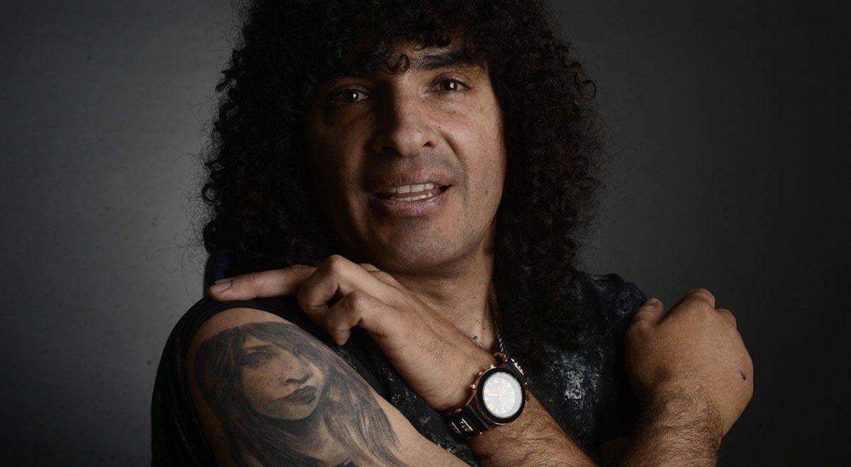 El cantante Fernando Turco Oliva dio positivo de coronavirus.